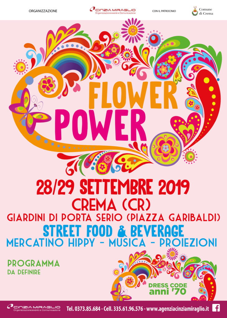 FLOWER POWER 2019 Crema