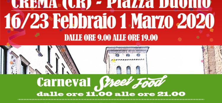 MERCATINO DEL CARNEVALE CREMASCO & STREET FOOD